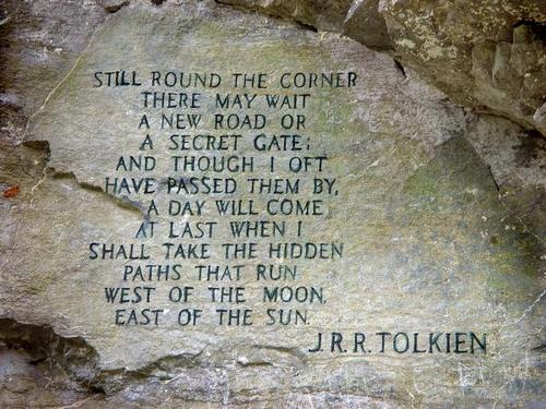 Tolkien from barrow blades via Beautiful Portals Tumblr