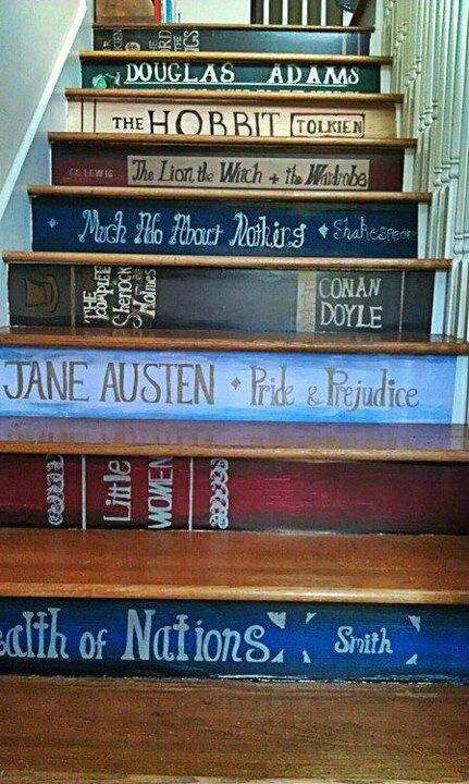 Book Staircase on Beautiful Portals Tumblr