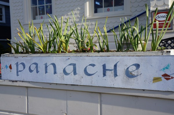 photo of panache name on flowerbox