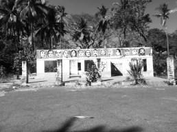 Abandoned building, La Punta Roca