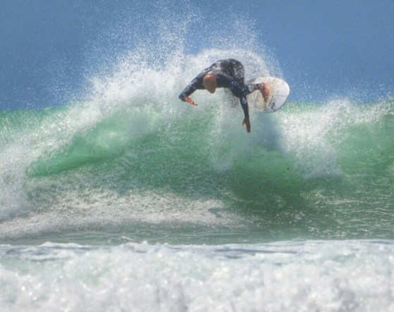 Backside bash on his way to another win at Lowers Pro.