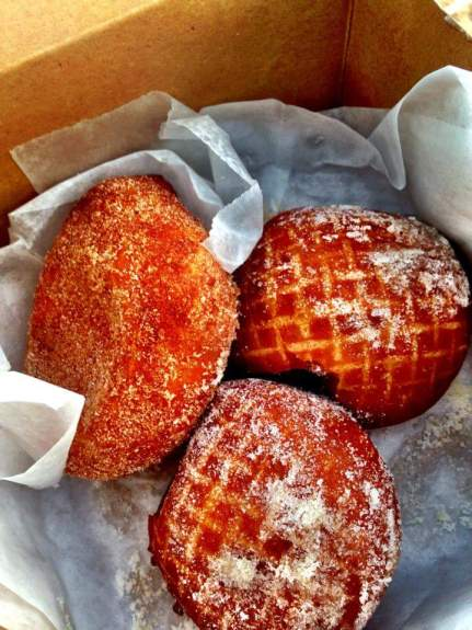 Malasadas from Leonard's Bakery in Honolulu, Hawaii