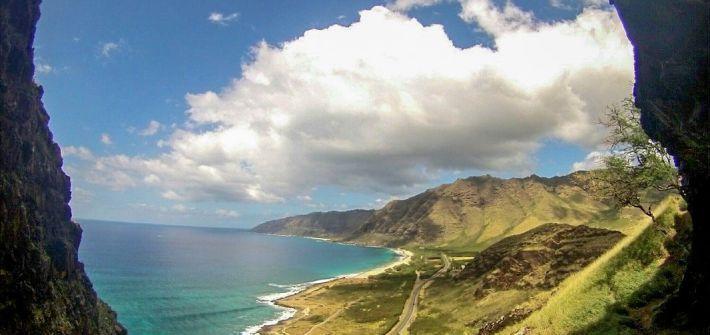Makua Cave Oahu Hawaii Secret