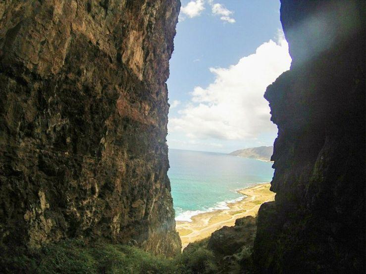 Makua Cave Oahu Hawaii