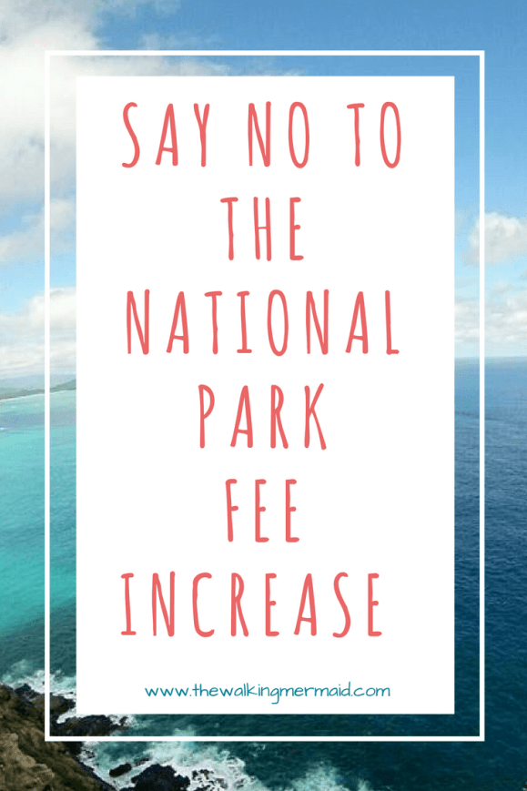 National Park Fee Increase