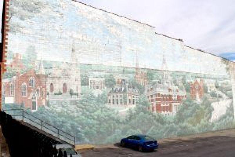 Clarksville Mural