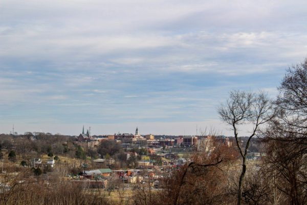 overview of clarksville tennessee downtown fort defiance civil war park