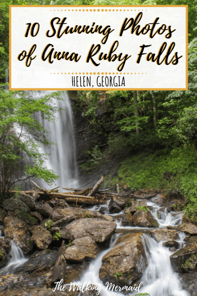 anna ruby falls photos images helen georgia unicoi state park pinterest pin overlay