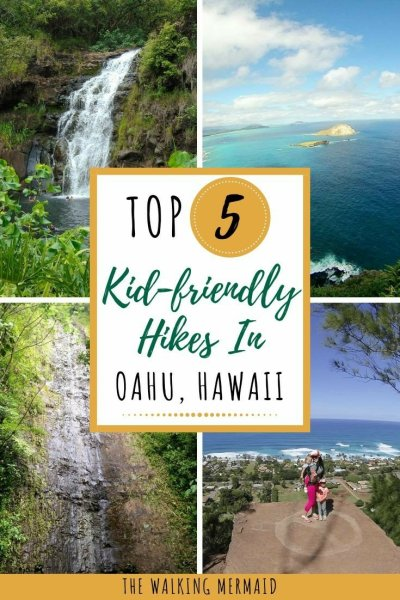 top 5 kid friendly hikes in oahu hawaii