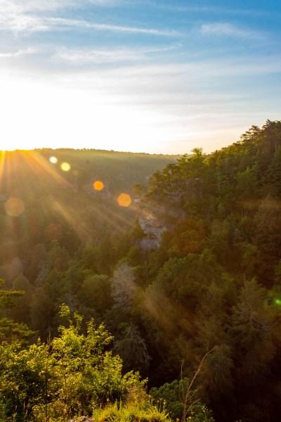 Fall Creek Falls State Park Tennessee Waterfalls Hiking outdoors