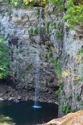cane creek falls tennessee fall creek falls state park rockhouse falls