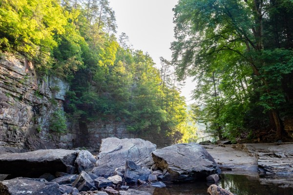 cane creek falls cascades fall creek falls state park Tennessee camping outdoors hiking nature trails swimming
