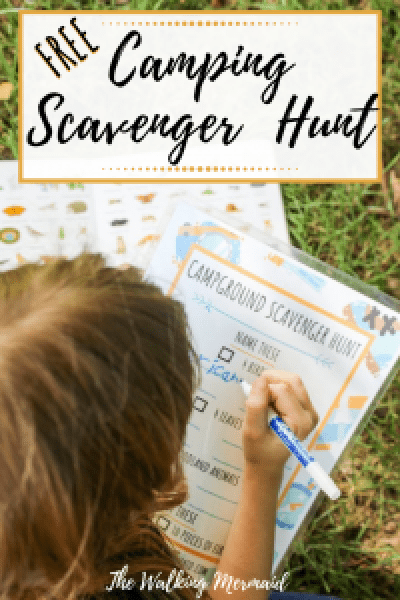 overlay camping scavenger hunt kids activity free