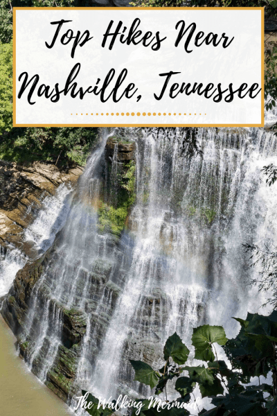 burgess falls waterfall tennessee pin image overlay