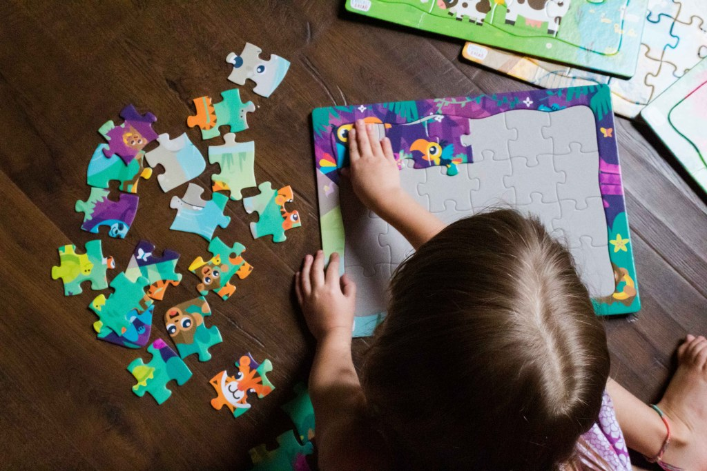 fun activities for kids at home puzzles from chuckle and roar
