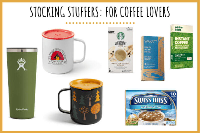 coffee lovers outdoor stocking ideas