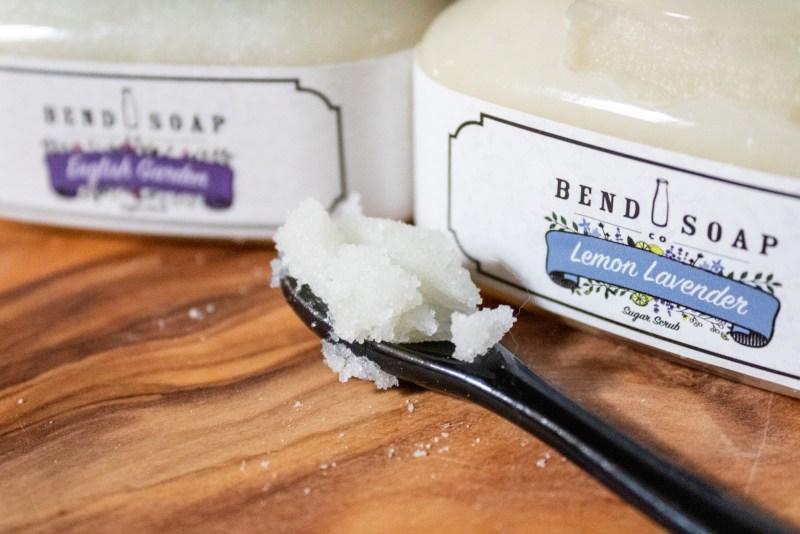 bend soap sugar scrub