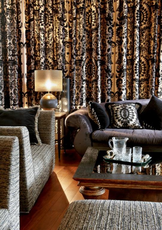 decorate large living room floating shelves brocade arcade   the walkup