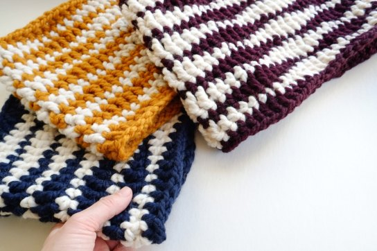 An Etsy shop filled with wool, crocheted goods, and knits