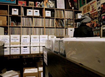 Owned by music label Captured Tracks, this shop's collection includes local artists & bootlegs.