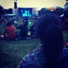 In trance watching Explosions in the Sky @ Osheaga 2013