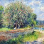 Horse Chestnut Tree In Flower by Renoir