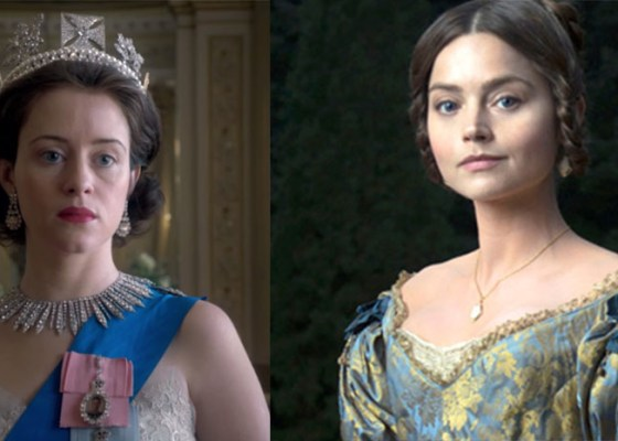 Actors from the Crown and Victoria