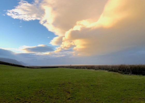 Clouds near Porlock, Somerset UK