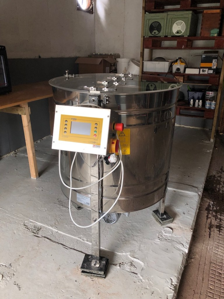My New Honey Extractor