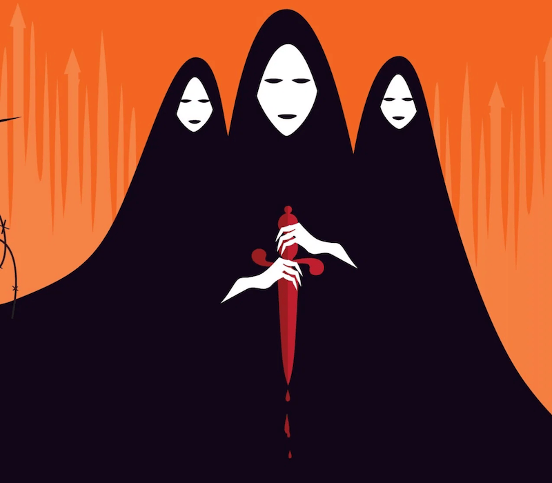 three witches from Macbeth