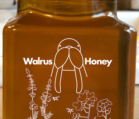 Walrus Honey Label