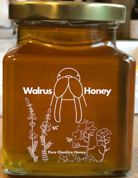 Walrus Honey Label