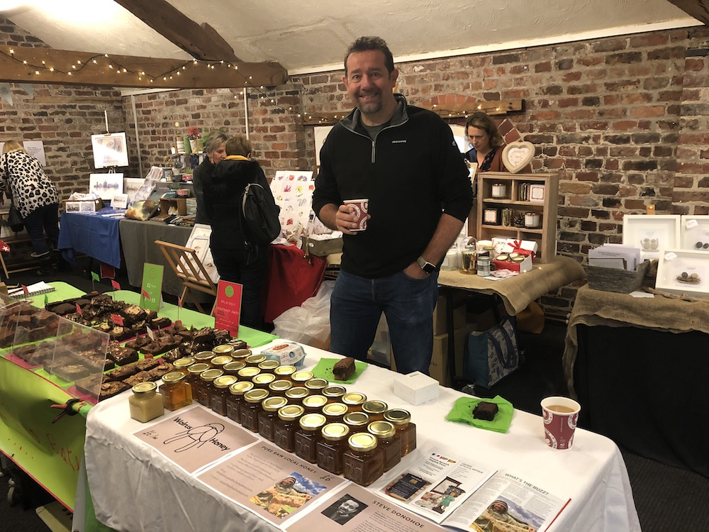 At the Artisan Fair on Red House Farm