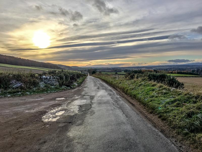 Perthshire Sunset, Scotland