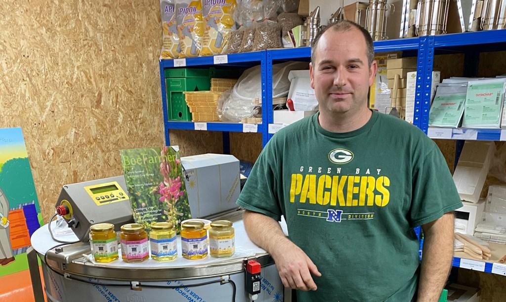 Paul Beardmore of Happy Valley Honey