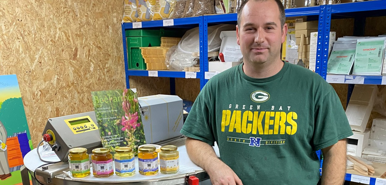 Paul Beardmore of Happy Valley Honey