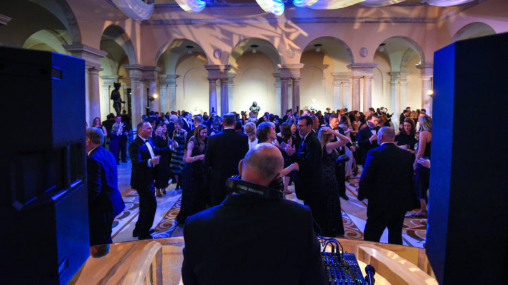 the walters gala party