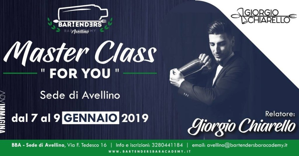 Eventi Cool: masterclass formyou