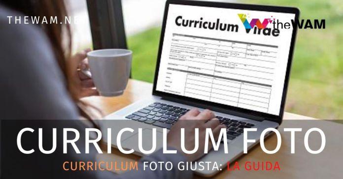 Foto curriculum quale fare