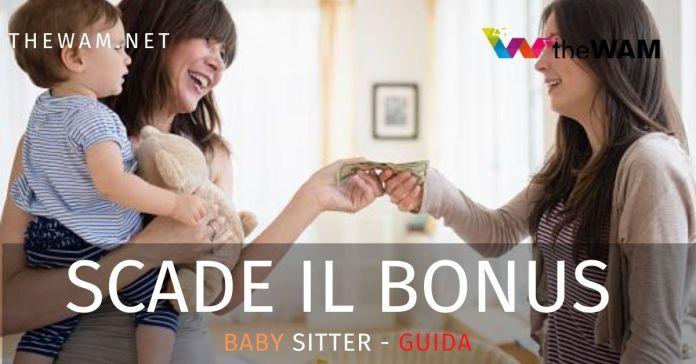 Bonus baby sitter scadenza il 31 agosto per presentare la domanda