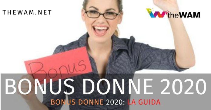 Bonus donne 2020
