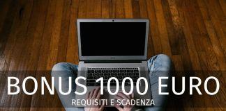 Bonus 1000 euro maggio 2020: scadenza, requisiti. Chi può ancora fare domanda