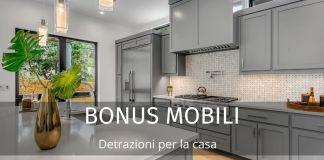 Bonus mobili ed elettrodomestici: detrazioni per la casa. Importo e requisiti