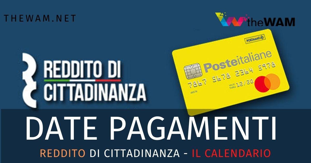 Pagamento Reddito Di Cittadinanza A Settembre Il Calendario Inps