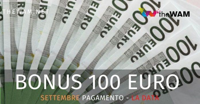 Pagamento bonus 100 euro sulla Naspi. Data del versamento