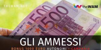 Bonus 1000 euro autonomi: i nuovi ammessi in Campania