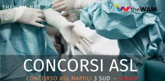 Concorso Asl Napoli 3 Sud. Bando per infermieri
