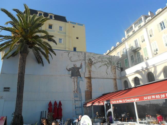 Street Art Mural in Nice