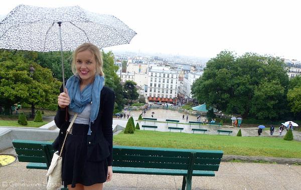 Rainy day in Montmartre