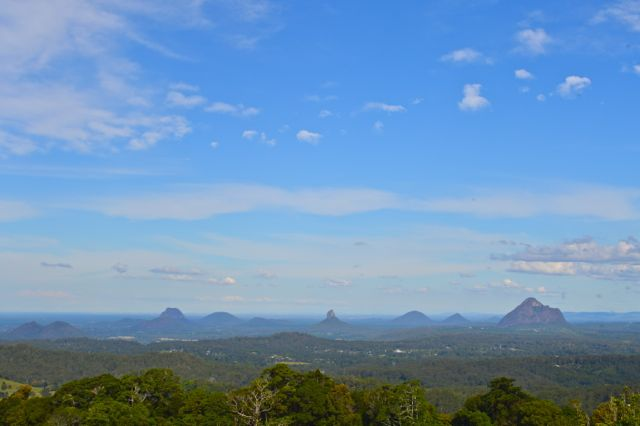 Glasshouse Mountains Sunshine Coast